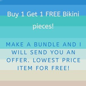 Other - B1G1 free bikini separates